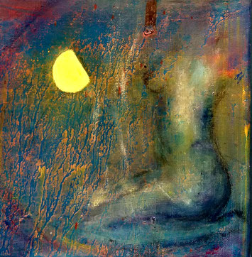 BDL 1911 Öl auf Leinwand 20 x 20 cm