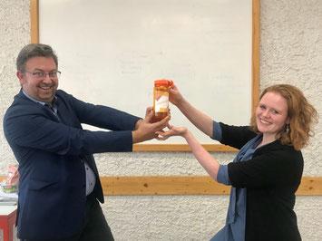 Jochen Kastner übergibt den Vorsitz - an Judith Reidelbach - 2019
