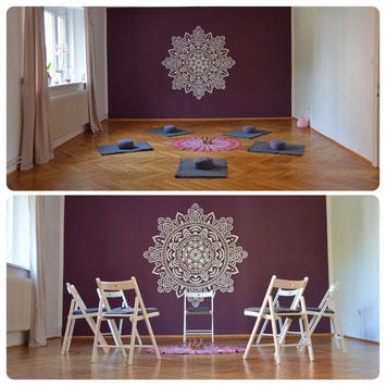 Ananda Yoga- und Seminar-Raum