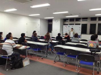 日本語研修風景