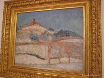 Neige à Murol(s), 1912, Wladimir de TERLIKOWSKI