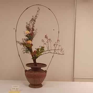 華展出展時のお花