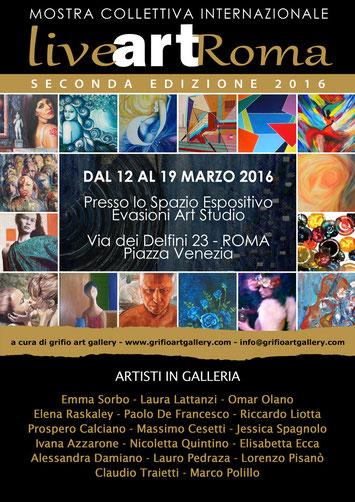 Mostra Collettiva Internazionale - Roma - 2016