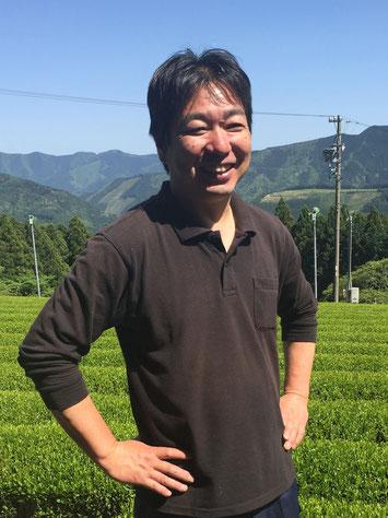 Organic tea in Kawane (Shizuoka prefecture) Taruwaki-en Yasuaki