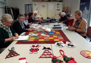 Préparation des fêtes dans l'atelier patch 9-12-19