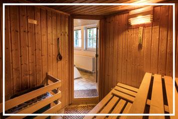 Unsere Sauna im Frühstückshotel Büsum