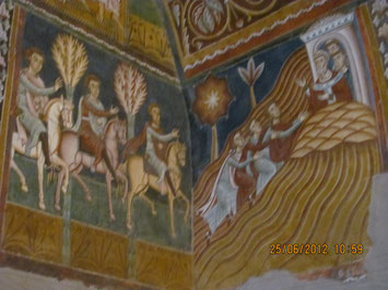 Rom, Silvesterkapelle - Die Soldaten suchen Silvester