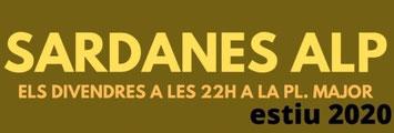 Sardanes - Estiu 2020 - Alp - Rètol