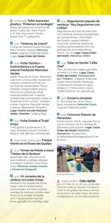 Fiestas de Exaltación de la Verdura en Tudela