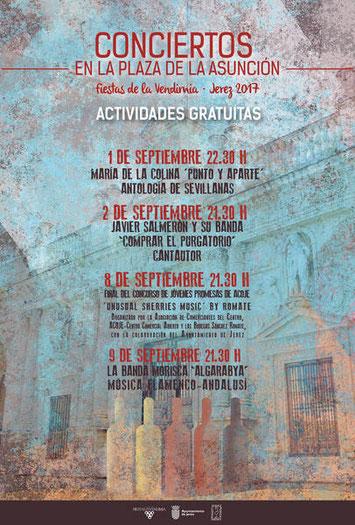 Conciertos Fiestas de la Vendimia en Jerez