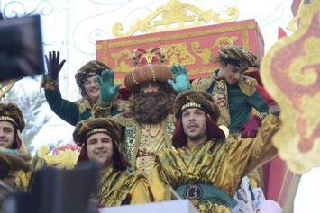 Cabalgata de Reyes de Cadiz
