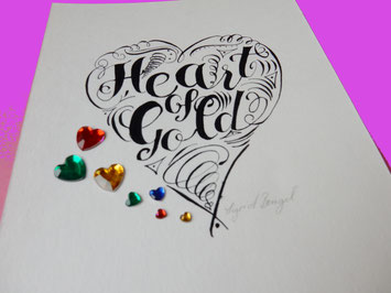 Lettering inspiriert von Neil Young