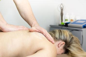 Rücken Nacken Schulter Massage im TPZ