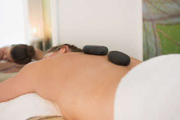 Hot-Stone-Massage im TPZ