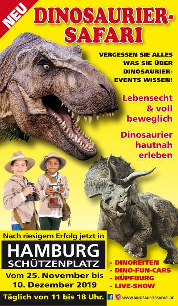 Dinosauriersafari - Lebensecht und voll beweglich - Dinosaurier hautnah erleben