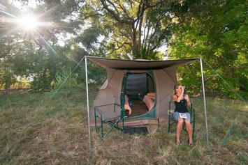 Campingsafari Botswana