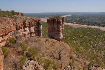 Landschaften Simbabwe Reise