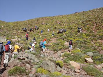 Aktivreise wandern in Marokko