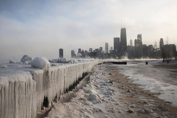 Google photo of Chicago Lake Michigan Winter ( copyrighted to corresponded photographer)