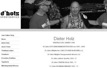 Training mit Sportservice Dieter Holz