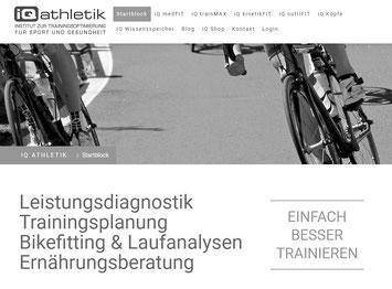 Trainingsplanung und Coaching mit iQ athletik | Institut zur Trainingsoptimierung für Sport und Gesundheit
