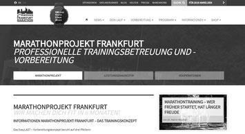 Optimale Marathonvorbereitung mit dem Frankfurt Marathonprojket