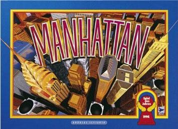 Brettspielklassiker Manhattan