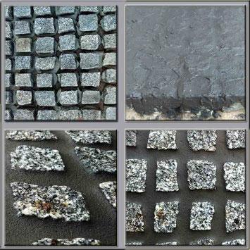Pflasterfugenmasse Dunkelgrau zum verfugen von  Wege und Terrassen, frostsicherer wassserundurchlässige Fugenmasse für breite Fugen Wasserundurchlässig für Terrassen