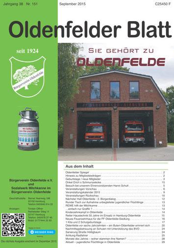 Oldenfelder Blatt Nr. 151