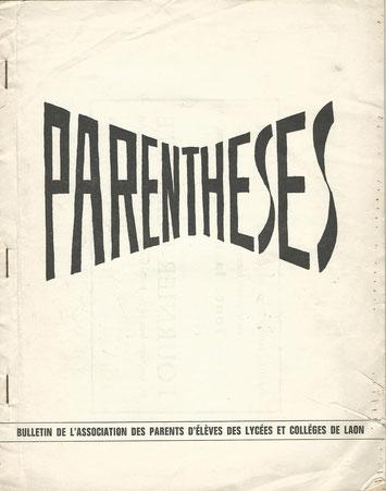 PARENTHESE 1966/67