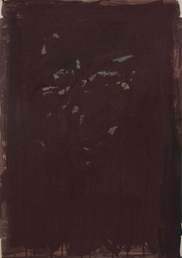 Selbst 2012 Temperafarbe 61 x 43 cm