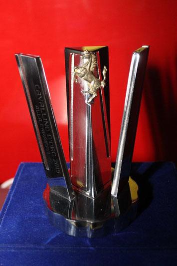 """Premio """"Cavallino d'Oro"""" alla carriera a Mario ANDRETTI. (photo Giacomo Terno)"""