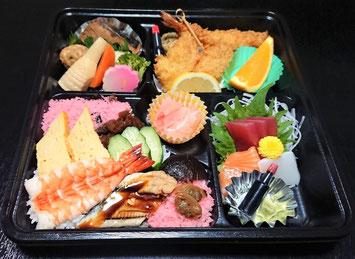 ちらし寿司弁当2,160円(税込)要予約