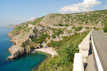voyage à vélo en Croatie, bike touring