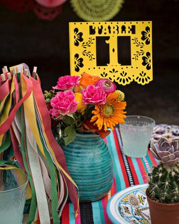 Décoration de tables lors de mariages et de fêtes