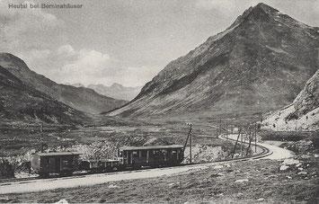 Dr. Buomberger's Eisenbahn-Panoramkarten