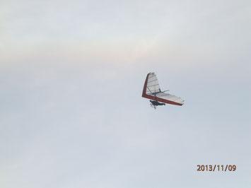 恒例のパラグライダー