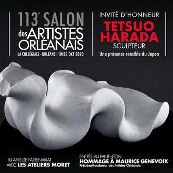 Claude Rossignol - Affiche Salon des Artistes Orléanais 2020