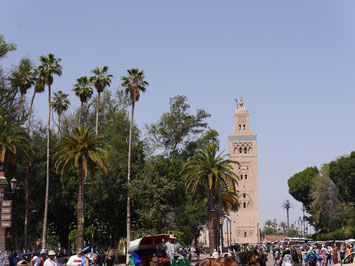 Koutoubia Mosque of Marrakesh