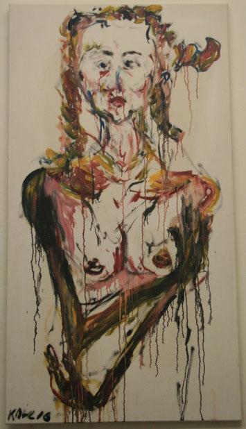 Prinzessin, Öl auf Leinwand, 100x150