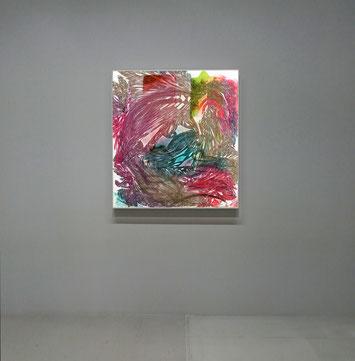sans titre n°2, dim. 102 x 93 cm, 2021