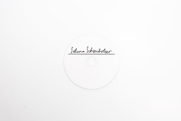 Yael Anders' Lettering and CD-Cover for Selina Schönholzer Music Zurich
