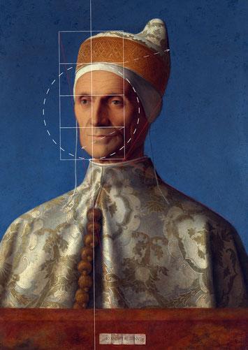 (Bild 25) Giovanni Bellini, Porträt des Dogen Leonardo Loredan, 1501/2, Öl auf Pappelholz, 61,6 x 45,1 cm, Inv.Nr. NG189, National Gallery / London