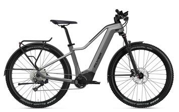 E-Bike FLYER TX, vollgefedertes Touren E-Bike rot