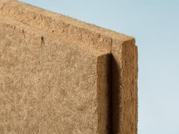 Holzfaserdämmplatten von Claytec