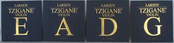 Cordes Larsen Violon Tzigane