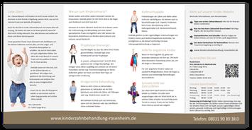 Kinderzahnbehandlung Rosenheim: Information für Eltern