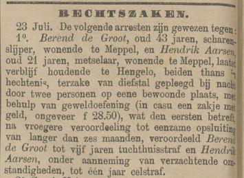 Provinciale Drentsche en Asser courant 24-07-1884