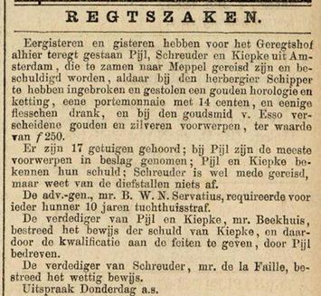 Leeuwarder courant 11-07-1885