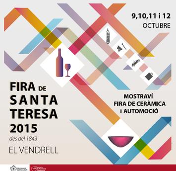 Fira de Santa Teresa en El Vendrell 2015 Programa